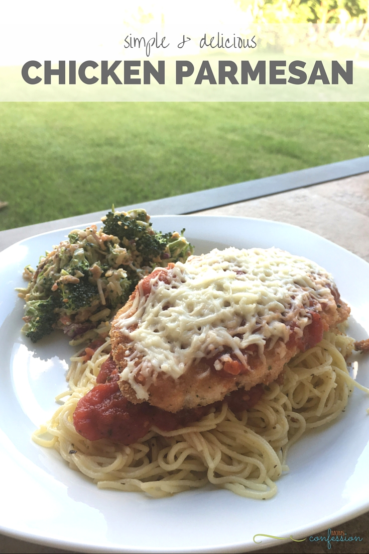 This Easy Chicken Parmesan Recipe is amazing and so simple to make at ...