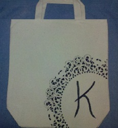 Tutorial - Hand Painted Or Rhinestone Tote Bag