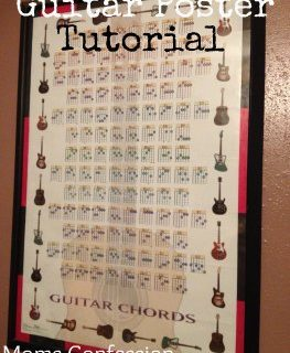 guitar poster tutorial