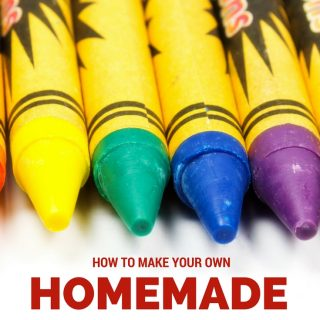 Learn how to make your own homemade crayons at home with your kids. It's so simple to do and the kids love creating their own special colors too!