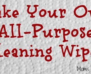 make your own all purpose cleaning wipes