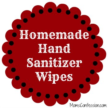 homemade hand sanitizer wipe recipe