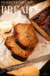 Banana nut bread recipes are a dime a dozen on the internet, but the sweet smell of this bread recipe baking makes my heart go pitter patter. It's so good!