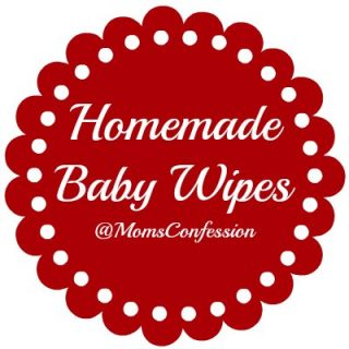 homemade baby wipes recipe