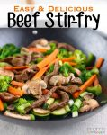 Simple and easy make this beef stir-fry recipe a go to for our family. You must try this simple dinner idea with your family tonight!