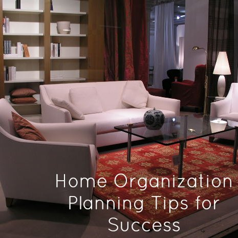 Home Organization Tips for Success