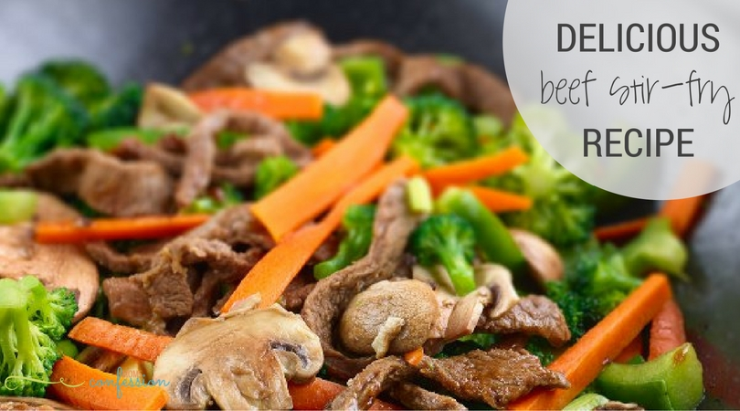 Simple and easy make this beef stir-fry recipe a go to for our family. You must try this recipe...I know you will love it!