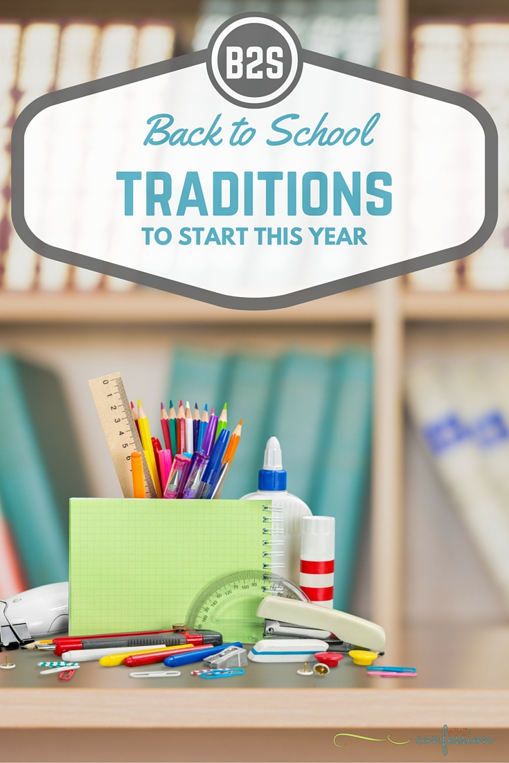 Check out these must do back to school traditions my mom started with me and the new traditions I have started with my boys! Start your own…your kids will love it!!