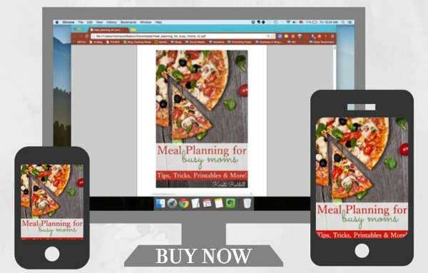 Buy Meal Planning for Busy Moms today!   Moms Confession
