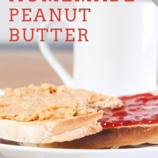This homemade peanut butter recipe will definitely impress your friends and family if they are not used to you making food from scratch.