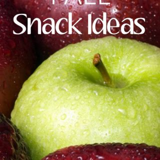 Great resource for fall snack ideas to enjoy this season!