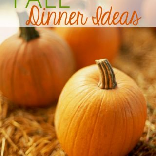 Great fall dinner ideas for the season!