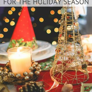 Organizing Tips for the Holidays - Simple tips and tricks to get organized this holiday season and enjoy the holidays with family!