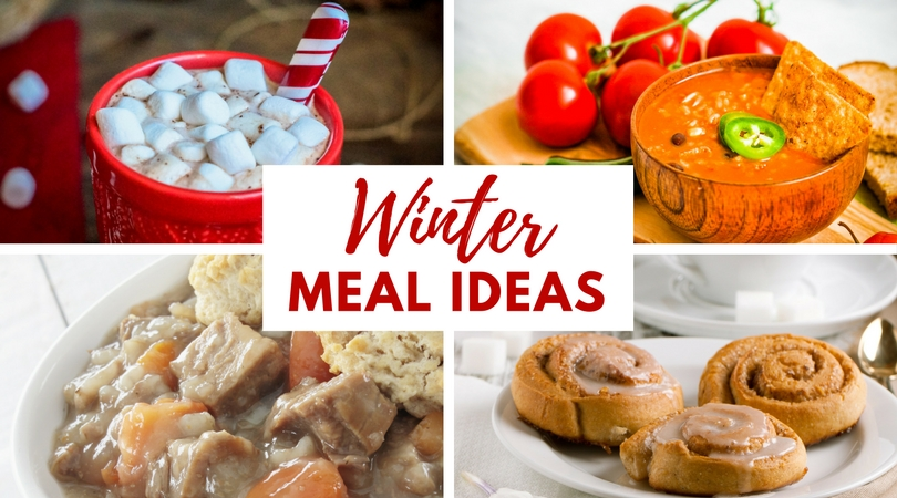 Looking for Winter Meal Ideas? Check out these simple and easy winter meals to enjoy with family around the table all season!