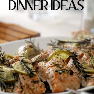 Spring showers bring May flowers, but Spring dinner ideas bring families together. Try these great easy meal ideas with your friends and family.