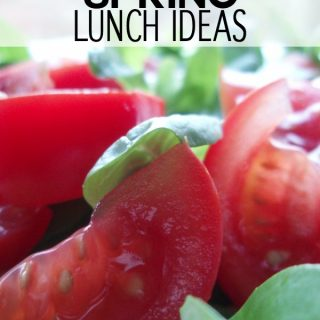 Easy spring lunch ideas are a great way to lighten up your meals as the seasons change. With these simple spring meal ideas, you can do just that!