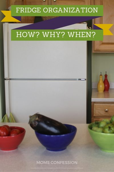 How, when and why should you organize the fridge? This organizing project takes a few minutes and you will see the benefits immediately.