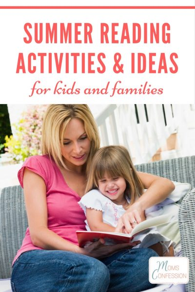 Summer Reading Activities and Ideas for Kids