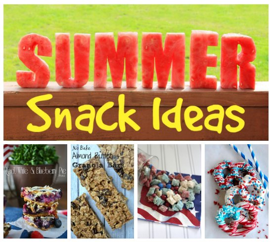 Summer Snacks for everyone in the family