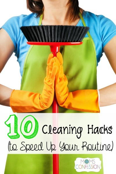 These cleaning hacks will help you speed up your routine!
