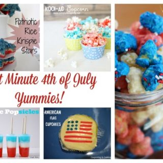 Last Minute 4th of July Yummies