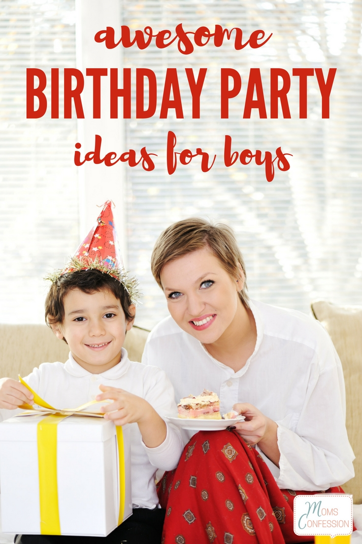 Even though your son is getting older, you can still throw him a birthday party he will love. Get some great birthday party ideas for boys here!