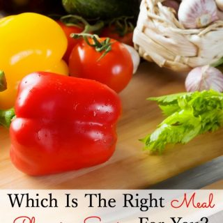 Which is the right Meal Planning Service for you?