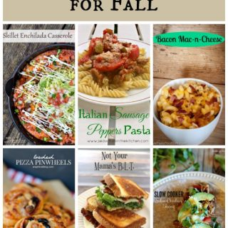 There are some great simple dinner ideas for fall here!
