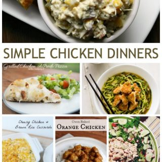 These simple chicken dinners are great for back to school and the fall season. Enjoy!