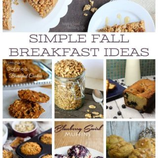 These Simple Fall Breakfast Ideas are awesome! Can't wait to try all of them!