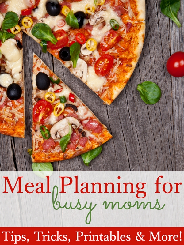 Meal Planning For Busy Moms EBook