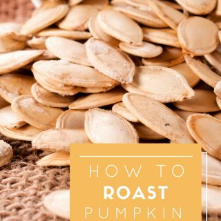 Roasted Pumpkin Seeds are the perfect fall-inspired snack or appetizer to have on hand. Learn how to roast pumpkin seeds this fall and savor the flavor.