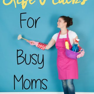 Looking for life hacks to make life easier? Here are a few tips and tricks I use daily to save a bit of my sanity and make everything run smoother at home. | MomsConfession.com