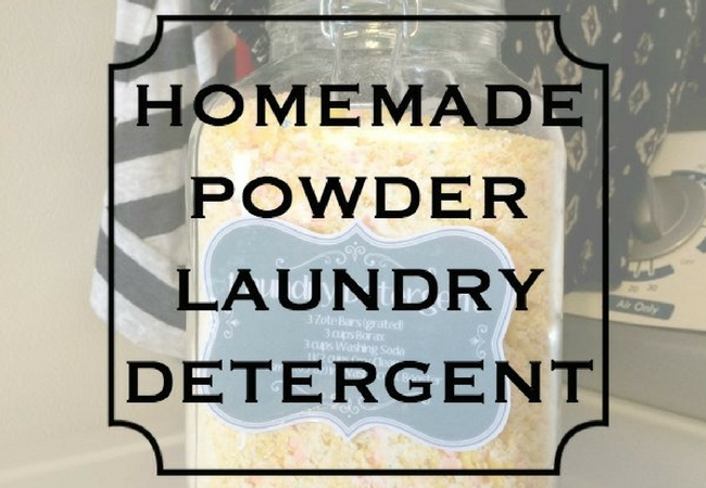 Old Fashioned Homemade Laundry Soap