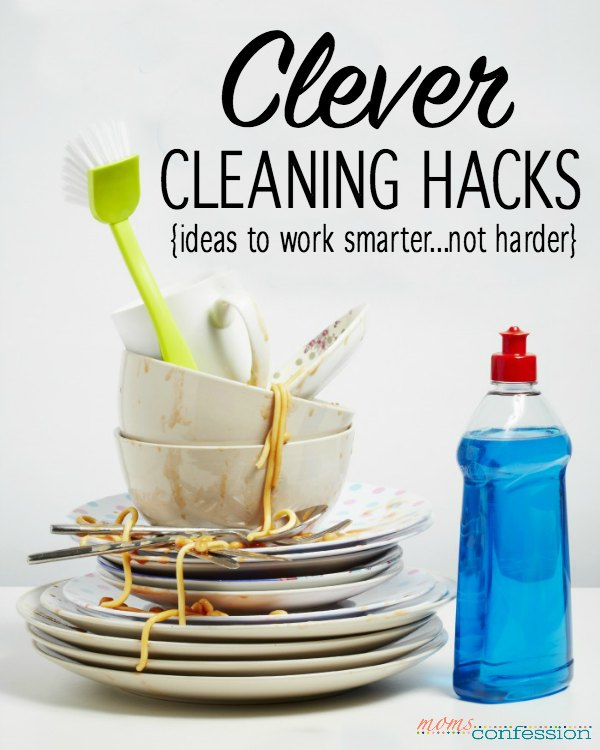 I love a good life hack. It's like working smarter, not harder! Take cleaning to the next level with these clever cleaning hacks that are good around the home.