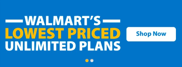 Walmart's Lowest Priced Unlimited Plans