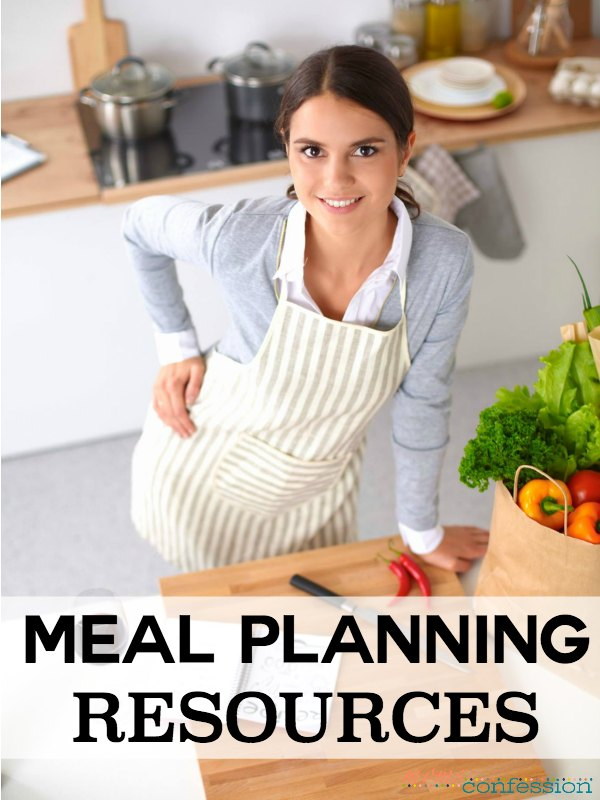 Meal planning has simplified my life and created more peace within my grocery budget. With these meal planning resources you can simplify your life too!