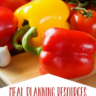 Meal planning has simplified my life and created more peace within my grocery budget. With these meal planning resources, you can simplify your life too!