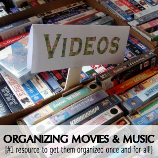 Looking for ways to organize your movies and music? See how these 6 organizing tips can help get your multimedia library in order today!