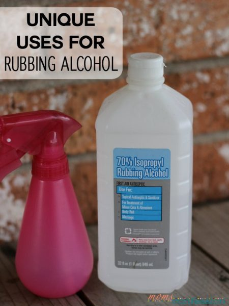 Unique Uses for Rubbing Alcohol