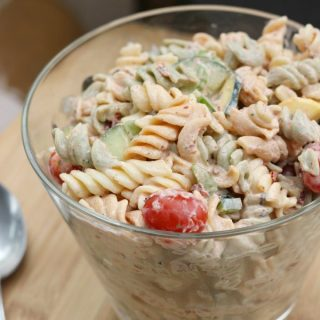 Having the perfect steak, chicken, brisket, or ribs on the grill or smoker are great, there is always room to spice up meals with a delicious side, like an easy pasta salad.