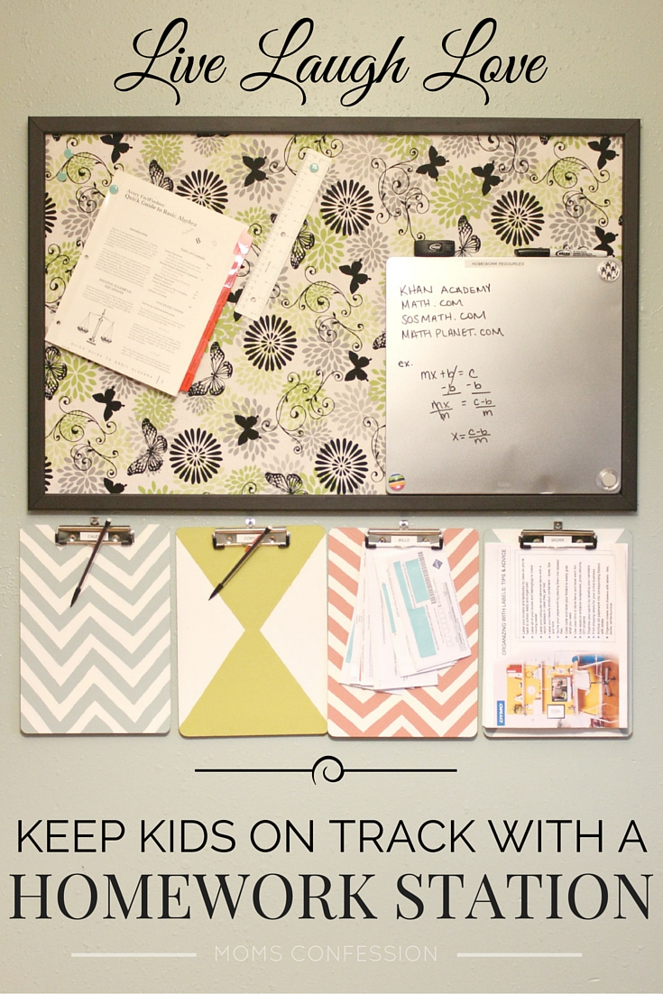 Save your sanity with a homework station created with the DYMO LabelManager 160. Not only will homework be easier, it will also be organized! Check it out!