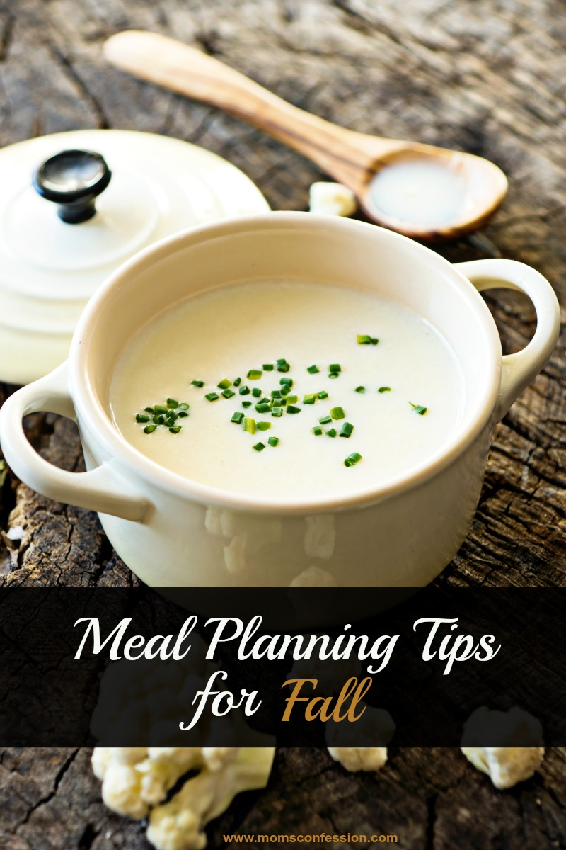 Meal planning tips for fall are all about making the most of limited time around busy schedules. Don't miss our top ideas listed here for your fall meals!