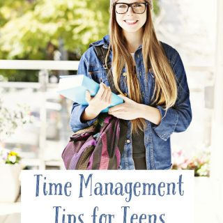 Time Management Tips like these just for teens are ideal for making sure kids are learning to be responsible with their time! Help teens manage time easily!