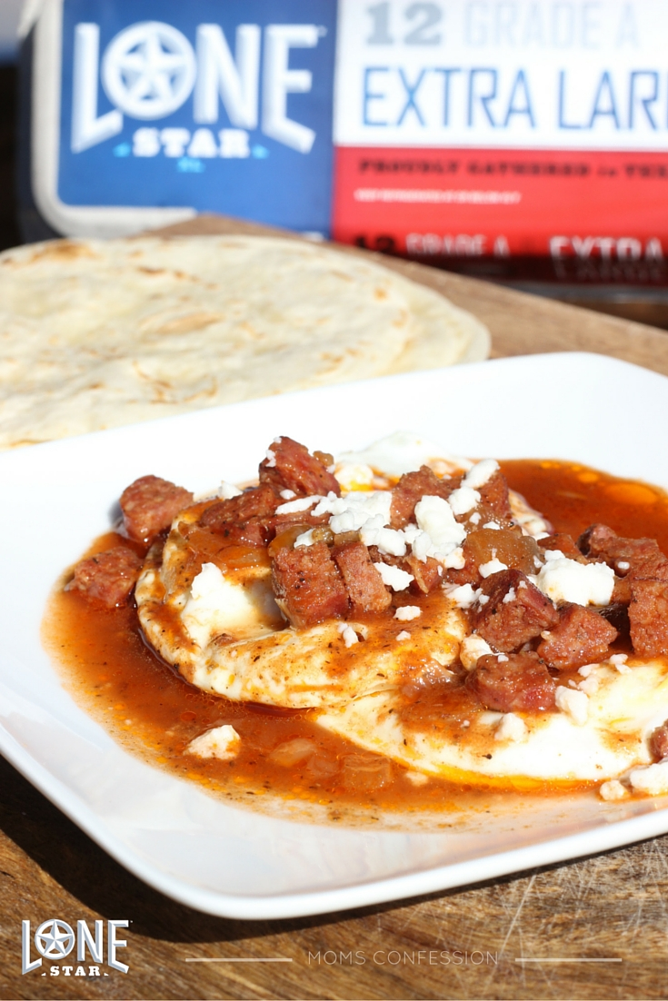 One of my favorite recipes with Lone Star Eggs is a Tex-Mex twist on huevos rancheros called Chilithro. It's loud, proud and Texas style. Try it yourself!