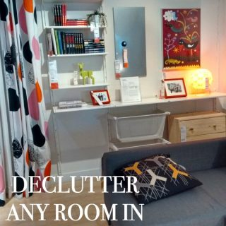 We have all received that phone call that someone is dropping by unexpectedly. Have no worries you can use these declutter tips for any room in ten minutes!