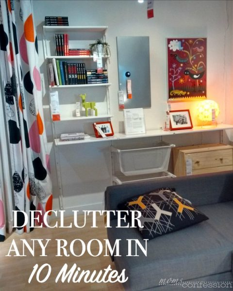 Declutter Tips For Any Room in 10 Minutes
