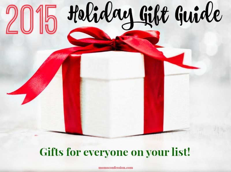 All the latest and greatest gifts in one place! Check out the 2015 Holiday Gift Guide at MomsConfession.com today!