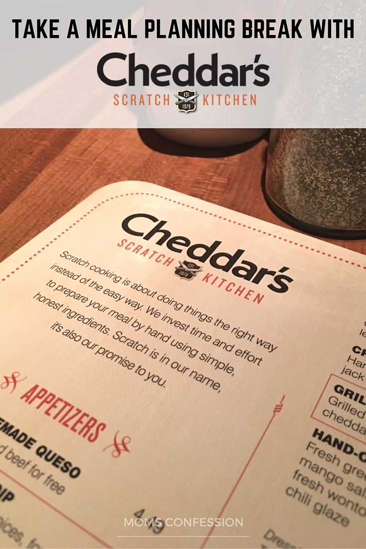 Take a Meal Planning Break with Cheddar's Scratch Kitchen