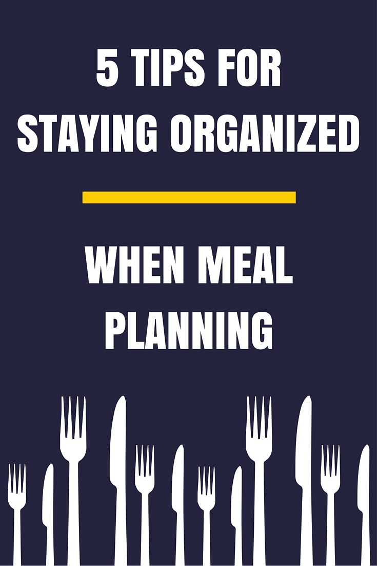 These 5 meal planning organization tips have not only saved my sanity, but they have also changed the way I meal plan each week. Use these meal planning tips to get meal time organized in your home once and for all!